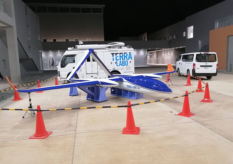 無人航空機による迅速かつ緻密な災害現場の可視化