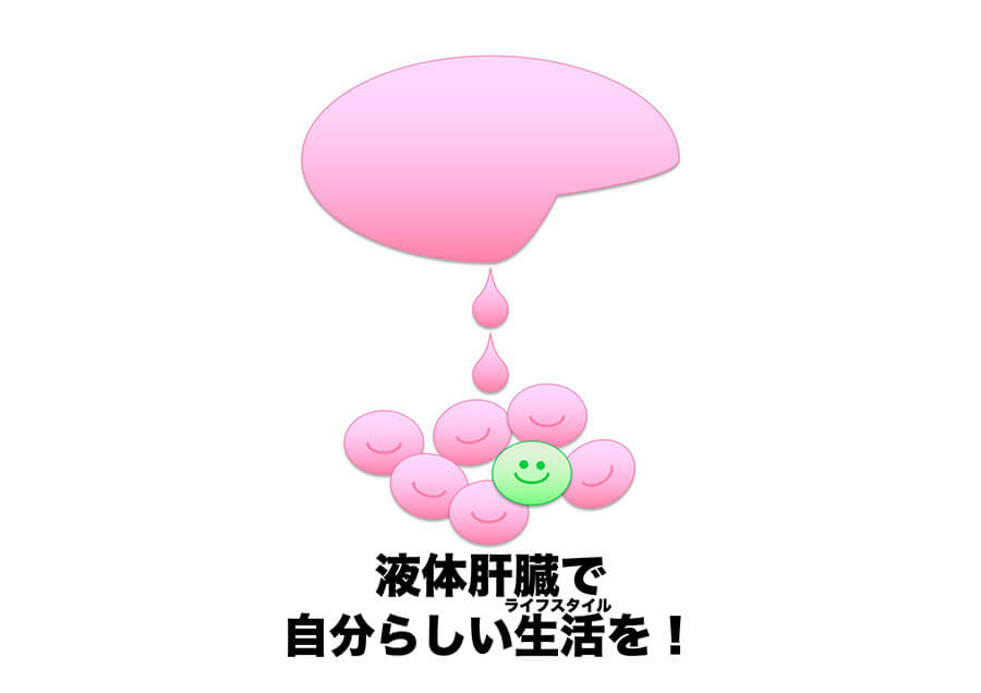 液体肝臓の開発