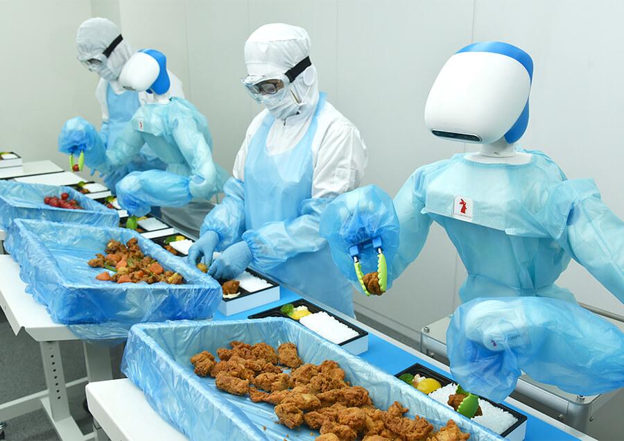 食品工場の生産性向上のためのAI/ロボティクス