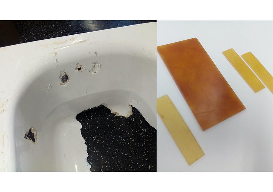 高硬度複合材料GFRPの完全リサイクル